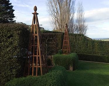 Garden Obelisk in Melbourne Region, Australia